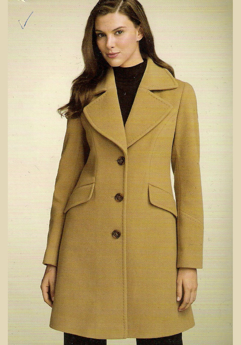 Overcoat for ladies